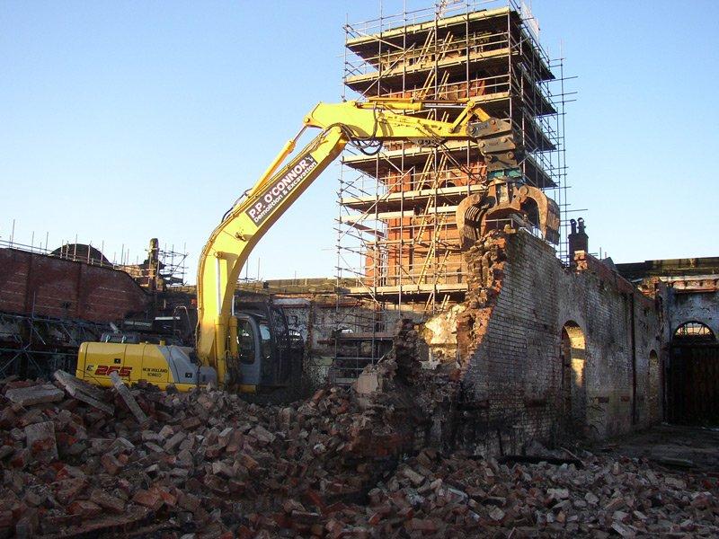 Demolition and deconstruction